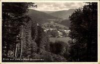 Bad Brückenau Bayern Unterfranken 1929 Panorama Landschaft Wohnhäuser Häuser Tal