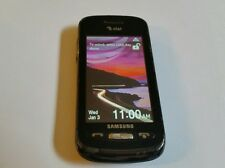 Broken Samsung Solstice SGH-A887 - Black (AT&T) 3G Cellular Phone AS IS.