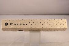 Vintage (c1960) Parker Polka Dot Cardboard Pen Case (NO PEN)