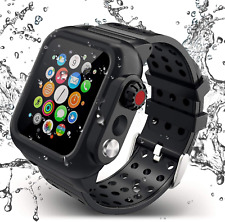 Apple Watch Series 6/5/4/SE Waterproof Case Band 44mm iP68 Underwater Cover Band
