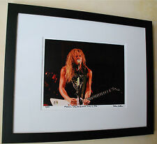 Metallica  James Hetfield Long Beach Arena June 14, 1986 fine art photo #11/100