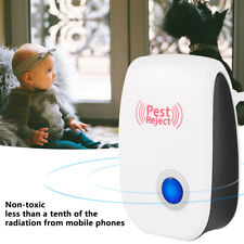 6x Electronic Ultrasonic Pest Mouse Killer Repeller Repellent Reject Mosquito