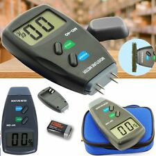 4 Pin Firewood Moisture Meter Digital Damp Detector Timber Wood Tester Sensor