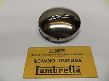 "Orig.Lambretta ""OPEN FRAME"" Model Chrome Under Seat Tool Box Cap 68mm Size N.O.S"