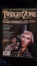 The Twilight Zone Magazine June 1982 BLADE RUNNER,A TZ 1ST-RICHARD MATHESON'S;