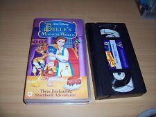 BELLE'S VHS MAGICAL WORLD WALT DISNEY