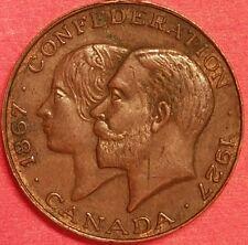 1927 Confederation Medal  ID #62-13