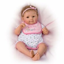 "Daddy's Little Girl So Truly Real Poseable, 18"" Baby Doll 0302255001 Mint Ashton"