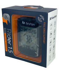 Bryton Rider 15E GPS Bike Bluetooth Wireless Auto included parts (Free Shipping)
