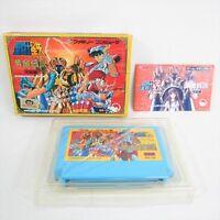 SAINT SEIYA Final Ogon Densetsu Item Ref/bcb Famicom Nintendo Japan Game fc