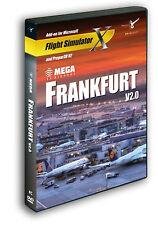 MEGA AIRPORT FRANKFURT V2.0 (PC-DVD) BRAND NEW SEALED FLIGHT SIM EXPANSION