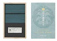 Japanese Incense Nippon Kodo Oedo-Koh Water Drop 60 Sticks Box with Holder