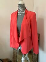 New Look Pink jacket blazer BNWT Size 12 Padded Shoulders