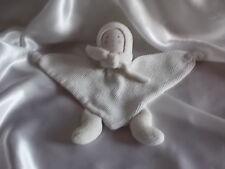 Doudou personnage, lutin blanc, grelot, Nounours