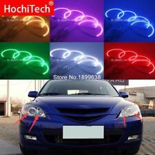 RGB LED Angel Eyes light Kit with remote control For Mazda 3 mazda3 2002 - 2007