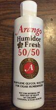 ARANGO HUMIDIFIER Pre-Mix 50/50PG Activator Solution Fluid for Cigar Humidor 8oz