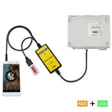 Camry Corolla Celic Car USB Aux in Adapter MP3 Integration Kit Highlander line