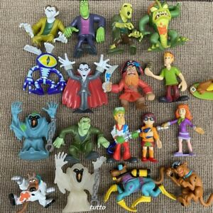 Random 5x Scooby Doo Crew Pirates Mystery Mates Shaggy Monster Zombie Figures