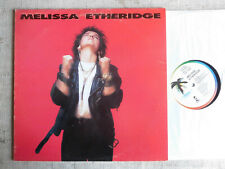 Melissa Etheridge ‎– Melissa Etheridge Etichetta: Island Records ‎– ILPS  - LP