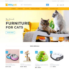Cat Products Store - Turnkey Dropshipping Business Website