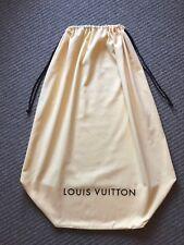 Louis Vuitton cordon de coton Sac à Poussière Housse TAILLE 85 cm x 66 cm NEUF