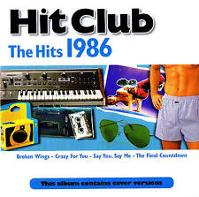 """HIT Club """"The Hits 1986"""" CD 17 TRACKS NUOVO & OVP PROMO Sound"""