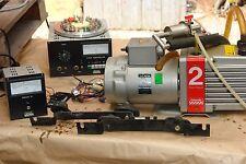 pompa a vuoto EDWARDS mod. 2  + misuratore PIRANI mod. 10