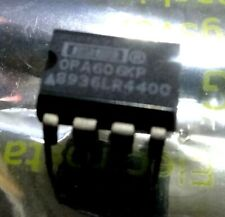 OPA606KP wideband Difet OP AMP OPA606 8 pin DIP BURR BROWN
