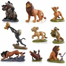 The Lion King Figures Collection Movie Simba Doll 9pcs Cake Topper Kids Gift