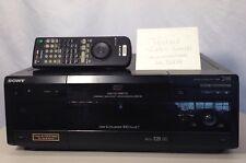 SONY DVP-CX860 DVD/CD Player 300 +1 Disc Mega Changer Jukebox Works Great