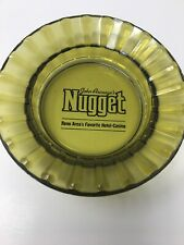 Vintage Nugget Reno Glass Ashtray