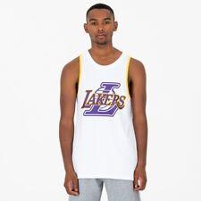 New Era NBA Lakers Sin Camisa para Hombres Blanco 35661
