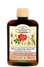 "64324 Massage oil ""Complex 5 in 1"" Rosehip oils Sesame Macadamia Avocado Almonds"