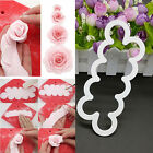 3D Silicone Rose Flower Fondant Cake Chocolate Sugarcraft Mould Mold Decor Tool