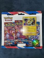 Pokémon BATTLE STYLES 3 Booster Packs Blister Pack FACTORY SEALED In Hand