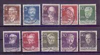 Berlin 1952 - MiNr. 91/100 - zentral rund gestempelt TOP - Michel 50,00 € (549)