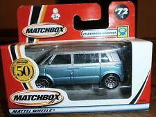 Matchbox Volkswagen New Bulli Microbus Camper Van - silver blue