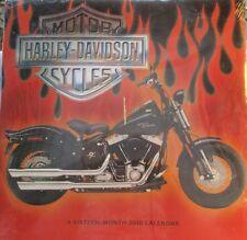 Harley Davidson Motor Cyles 2010 Sixteen Month Calendar 2009 Models Date Works