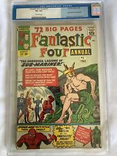 Fantastic Four Annual #1CGC (old label) 4.5 Very Good+ Off White Pages