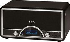 Systeme Audio STEREO Rétro Radio Bluetooth DAB USB aux - AEG Noir
