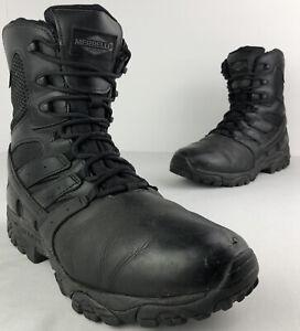Merrell Moab 2 Tactical Waterproof Boots Men's US 9.5 EUR 41.5 J15845 Side Zip