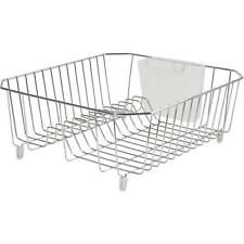 Rubbermaid Chrome Twin Dish Drainer