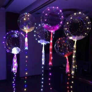 LED Balloon Lights Party Decoration Lockdown Birthday Party Wedding Decor Colour
