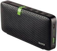 Leitz Portable Bluetooth Speaker with Built-in Power Bank, 60 Hours Playback