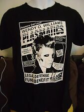 RHTF! ORIG-1984 PLASMATICS-NYC CONCERT-SHIRT MEDIUM -WENDY O-PUNK ROCK,METAL