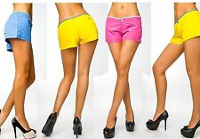 Kurze Damen-Shorts & -Bermudas im Freizeit-Stil mit Polyester
