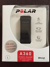 POLAR A360, Activity Tracker, L, Schwarz
