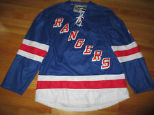 Reebok MICHAEL DEL ZOTTO No. 4 NEW YORK RANGERS (Size 48) Jersey