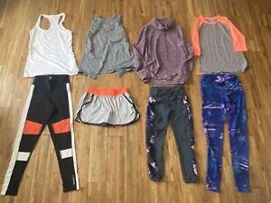 Lot of 8 Mixed EXTRA SMALL Athletic Lot Athleta Ideology Reebok Women's