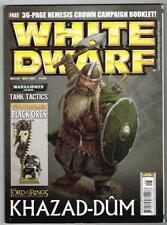 White Dwarf Magazine No.329 May 2007 MBox1104  Tank Tactics - Khazad-Dum